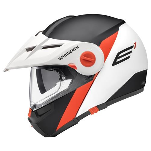 Schuberth Capacete E1 Gravity Orange