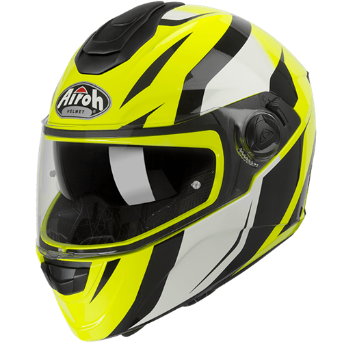 AIROH Capacete ST301 TIDE Amarelo Gloss 2019