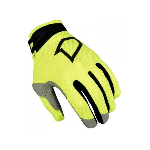 FIRST RACING Luva DATA EVO Criança Neon/Lime 2019 FIRST