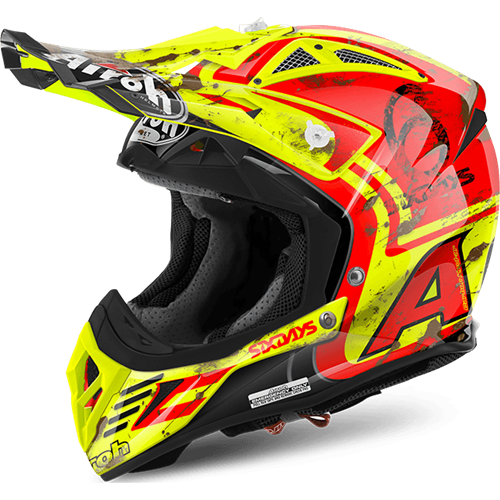 AIROH Capacete AVIATOR 2.2 SIX DAYS SPAIN 2017 AIROH