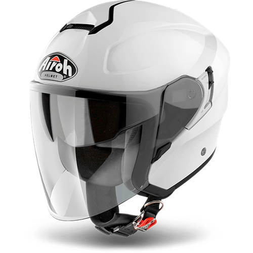 Capacete HUNTER SIMPLE Branco AIROH