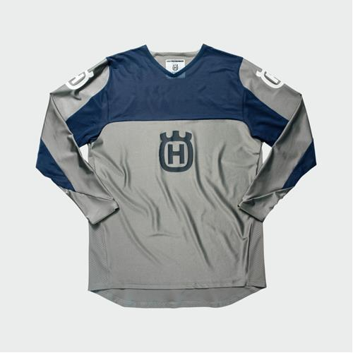 Husqvarna Railed Shirt Grey