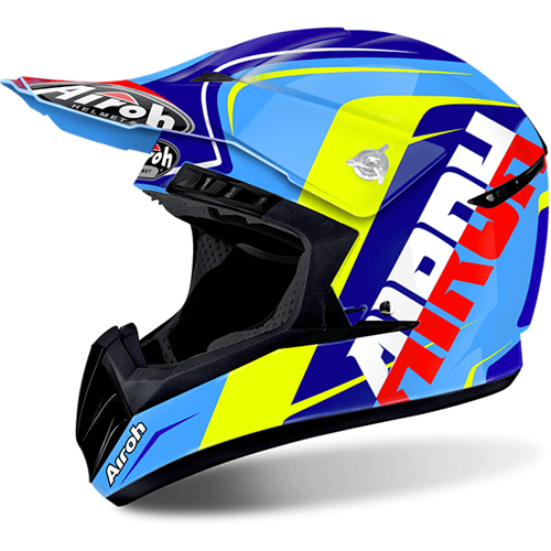 Capacete SWITCH SIGN Azul AIROH