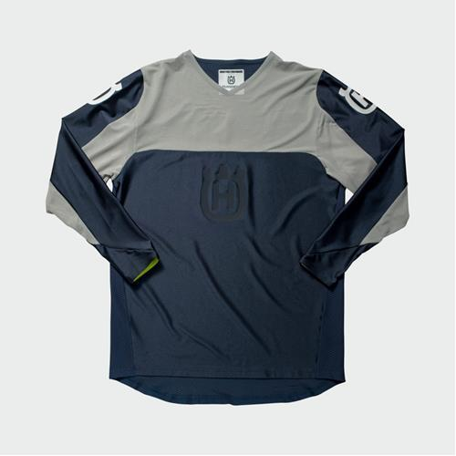 Husqvarna Railed Shirt Blue