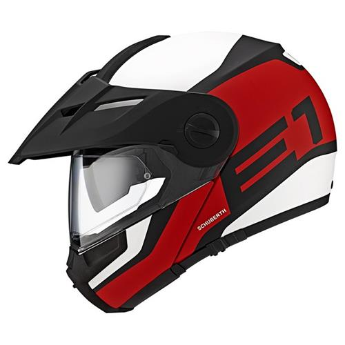Schuberth Capacete E1 Guardian Red