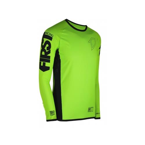 FIRST RACING Camisola SKINNY FIT Neon 2019