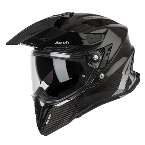 Capacete COMMANDER DUO FULL CARBON Gloss AIROH2020