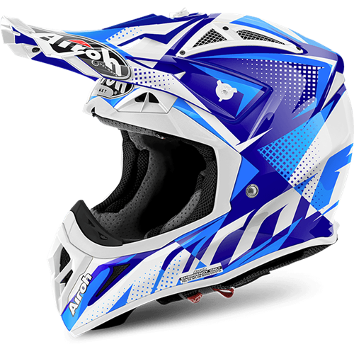 AIROH Capacete AVIATOR 2.2 FLASH Azul Gloss 2017
