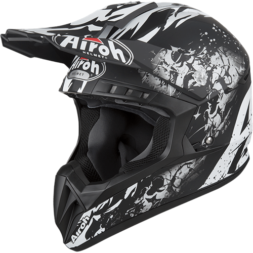Capacete SWITCH BACKBONE Matt AIROH 2019