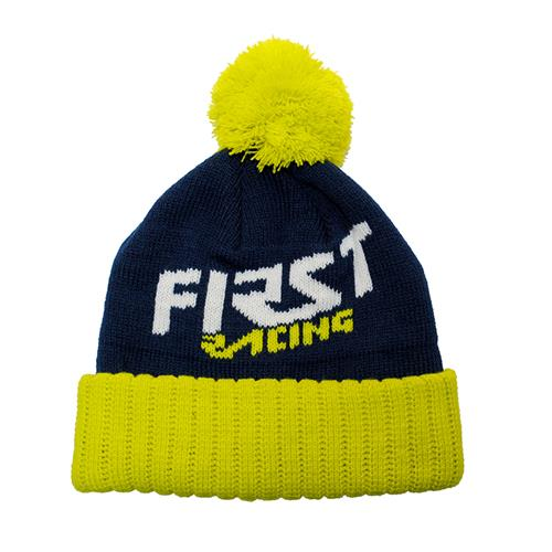 FIRST RACING Gorro Pompon Beanie
