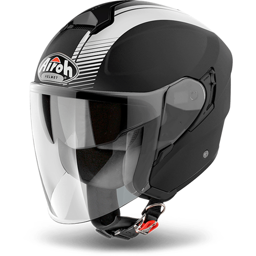 AIROH Capacete HUNTER SIMPLE Preto Matt