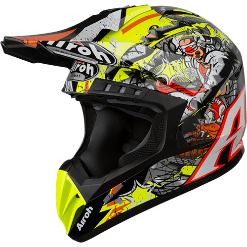Capacete SWITCH PIRATE Gloss AIROH 2019
