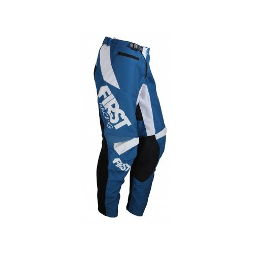 FIRST RACING Calça SCAN RACE Denim/Azul 2019 FIRST