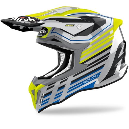 Capacete STRIKER SHADED Amarelo AIROH 2020