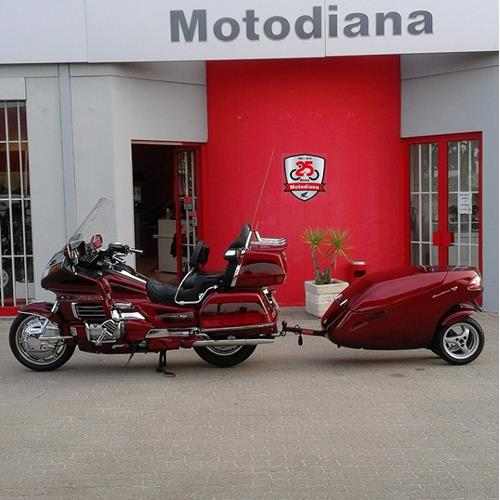 Honda Goldwing GL1500 c/ Reboque