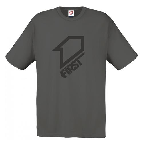 FIRST RACING T-Shirt FIRST Classic cinza