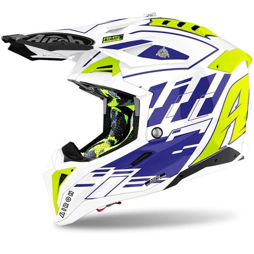 Capacete AVIATOR 3 RAMPAGE Azul 2020