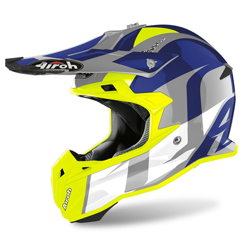 Capacete TERMINATOR OPEN V. SHOOT Azul Gloss 2020