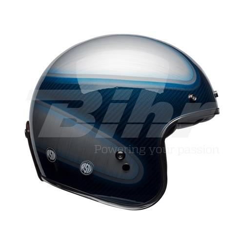 BELL CAPACETE BELL Custom 500 Carbon Jager Azul Candy