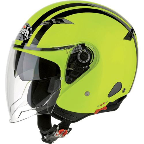 Capacete CITY ONE FLASH Amarelo AIROH