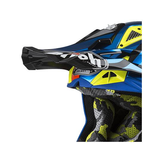 Pala Capacete AVIATOR 2.3 GREAT Azul Cr 2019 AIROH