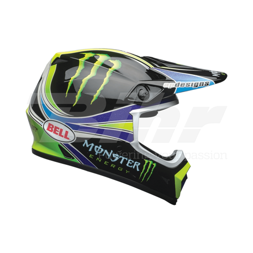 BELL MX-9 Mips Monster Pro Circuit 18.0 Replica