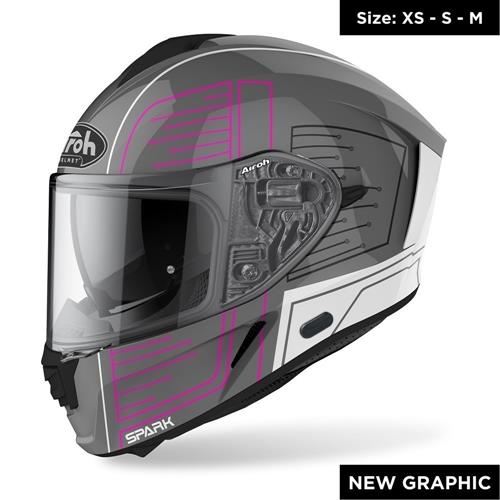 Capacete SPARK CYRCUIT Pink Gloss AIROH 2020