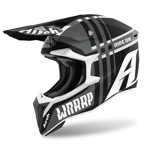 Capacete WRAAP BROKEN Anthracite Matt AIROH 2020