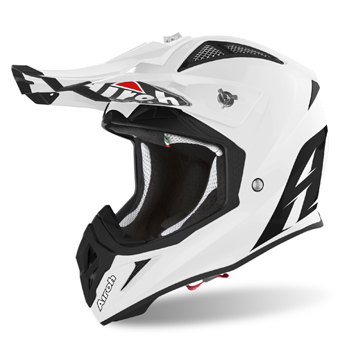 AIROH Capacete AVIATOR ACE COLOR Branco Gloss 2020