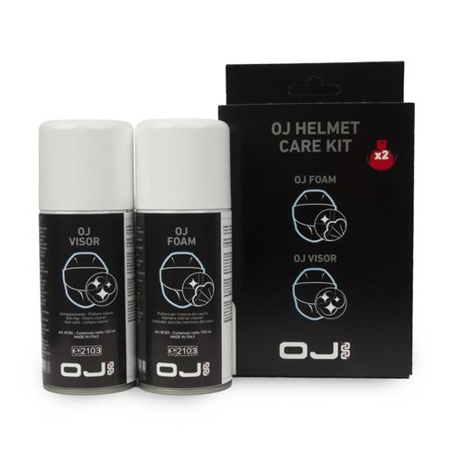 OJ Kit Limpeza HELMET CARE KIT (Foam + Visor) 150+150ml