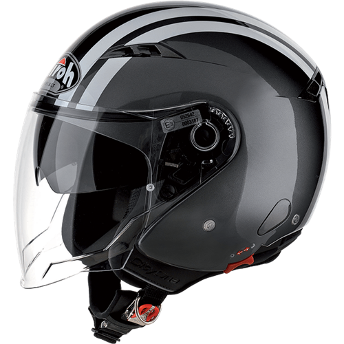 Capacete CITY ONE FLASH Cinza AIROH