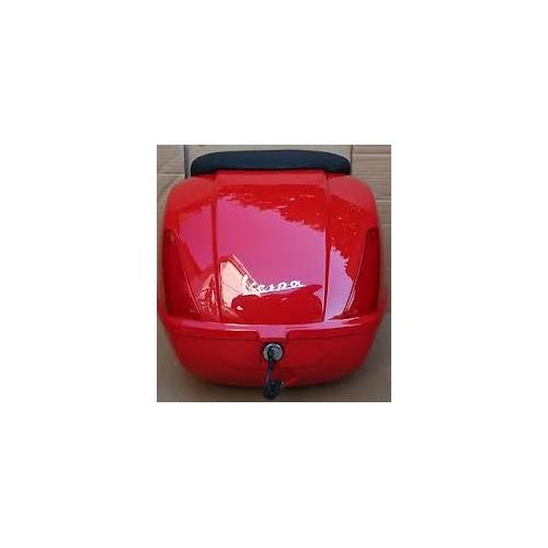 Top case Vespa GTS vermelha