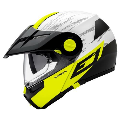 Schuberth Capacete E1 Crossfire Yellow