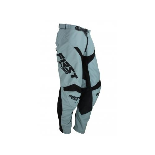 FIRST RACING Calça DATA EVO Cinza/Preto 2019