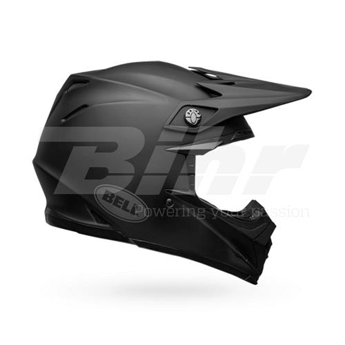 CAPACETE BELL MX-9 Mips Solid Preto Mate