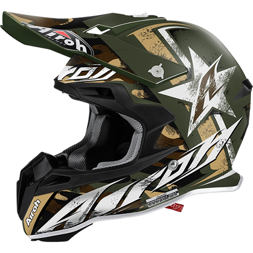 AIROH Capacete TERMINATOR 2.1 GROUND