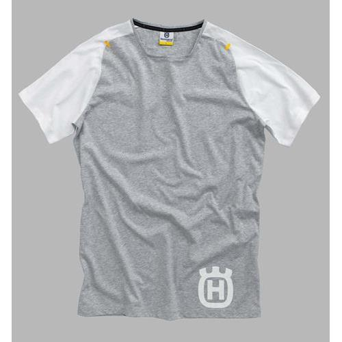 T-shirt Progress Branca Husqvarna