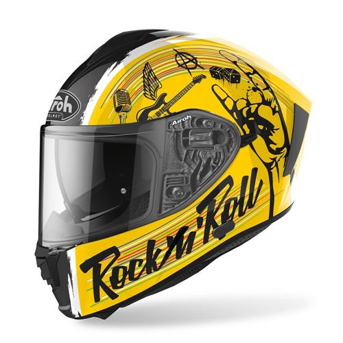 Capacete SPARK ROCK N ROLL Gloss AIROH 2020