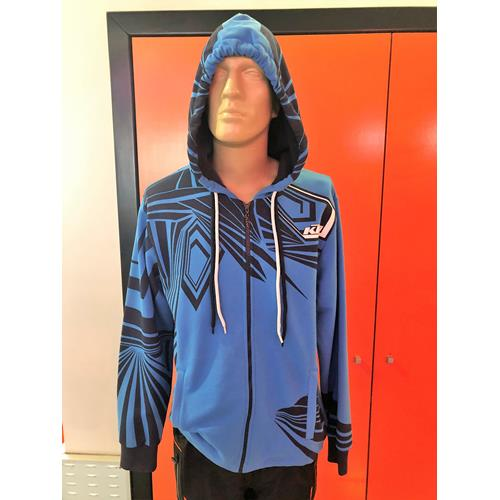 Graphic Hooded Sweat Jacket KTM